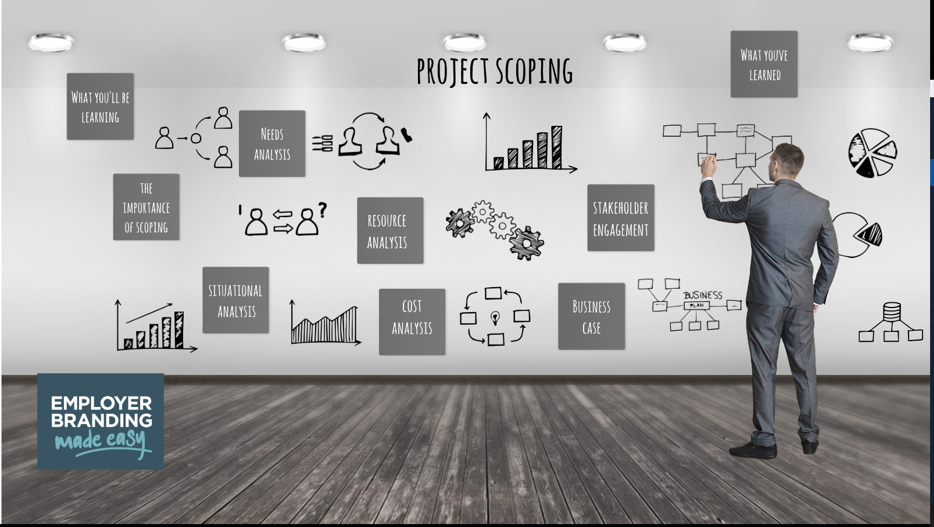 Employer Branding Made Easy - Employer Value Proposition project scoping