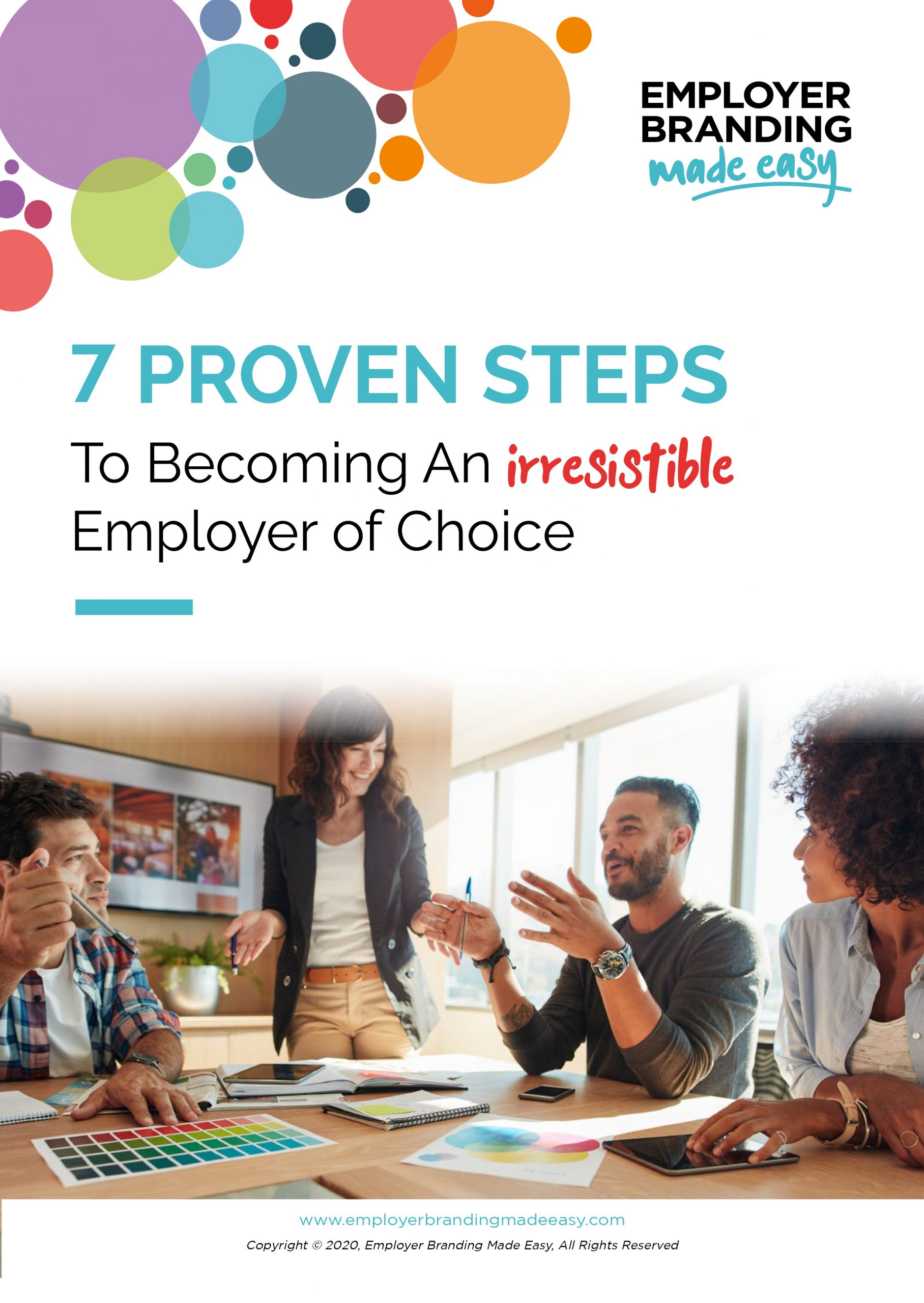 7 Proven Steps to Becoming an Irresistible Employer of Choice - Seventh Edit -1