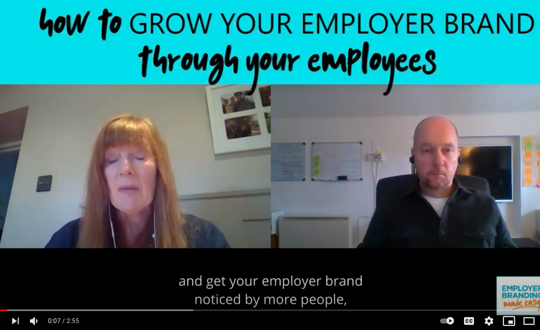 Tips Tuesday - How to grow your Employer Brand through your employees video thumbnail