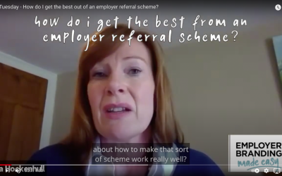 How do I get the best from an employer referral scheme?